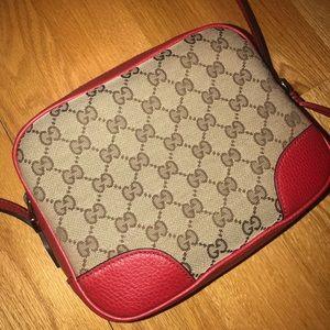 Gucci bree guccissima crossbody bag